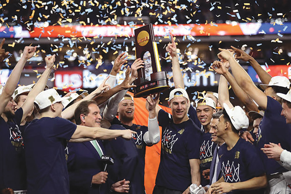 The Virginia Cavaliers win the NCAA Championship for the 1st time in school history. (courtesy photo)
