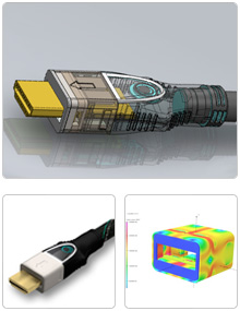 Case Study: Magnetic HDMI - Sparkfactor was given the task of redesigning this product so that it had higher magnetic retention force. We performed electromagnetic analysis to optimize the magnetic components of the system.Disciplines:Product Design, FEA (Magnetic analysis)Sparkfactor provided:Component specification and sourcing (magnets)Product design engineeringMagnetic analysisPrototypingTooling Release package
