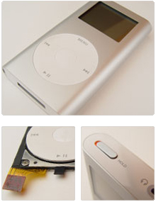 Case Study: iPod - Disciplines:Mechanical EngineeringDates:2002, 2003, 2004The Apple iPod launched an entire revolution, and we were proud to have helped with detail engineering bits on the first 3 versions of MP3 Players.Sparkfactor's Role:* Designed hardware for dock* Designed navigation buttons* Created documentation packageTeam:Brett DegnerApple iTunes website