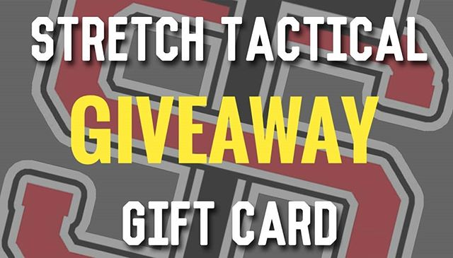 ***GIVEAWAY TIME*** Up for grabs is a Stretch Tactical Gift card.  How much it is worth is down to you!  Base line is £10 If we get over 100 entry's from everyone then £25 If we get over 250 then £50  Rules: 1) Follow us 2) Like the post 3) Comment which tee you would buy with it 4) tag a friend who would be interested (one person per comment) each comment is one entry.  Drawn 28/09/18 2000 BST  Worldwide eligiblity  The competition is in no way sponsored, endorsed or administered by, or associated with Instagram. —————————————————— #milsim #milsim_pics #s23familia #airsoft #airsoftinternational #airsofter #airsoftgun #airsofting #airsoftuk #airsoftworld #L119A2 #airsoftobsessed #worldairsoft #skirmish #NSW #airsofting  #airsoftlife #featureairsoft #airsoftwar #Devgru #airsofterphoto #SF #airsoftmilsim #UKSF #StretchTactical #Competition #Giveaway