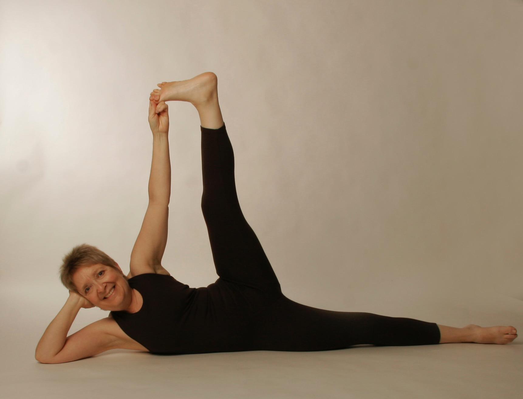 leg-up pose