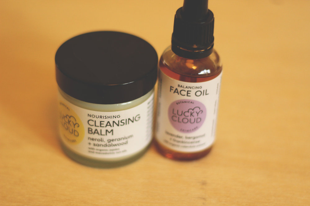 lucky cloud skincare oil cleansing method