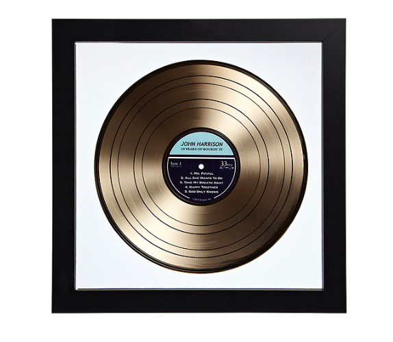 personalised lp record
