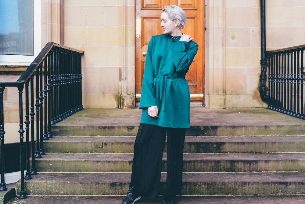 ethical fashion blogger