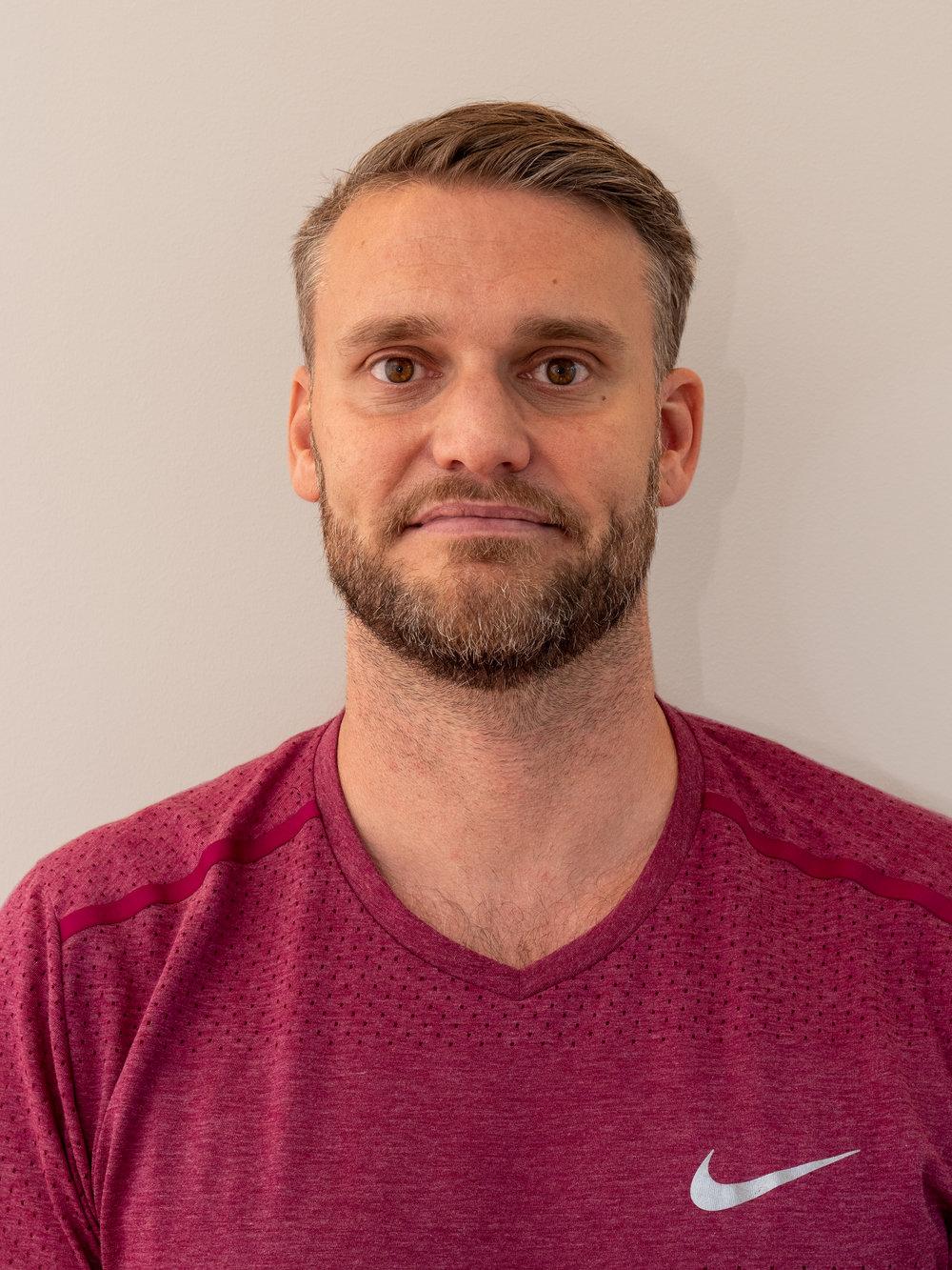 Chris Muri, medizinischer Trainingstherapeut