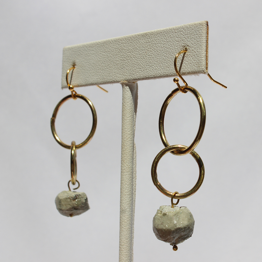 GIFTT EARRINGS - NUGGET DOUBLE CIRCLE (STONE).jpg