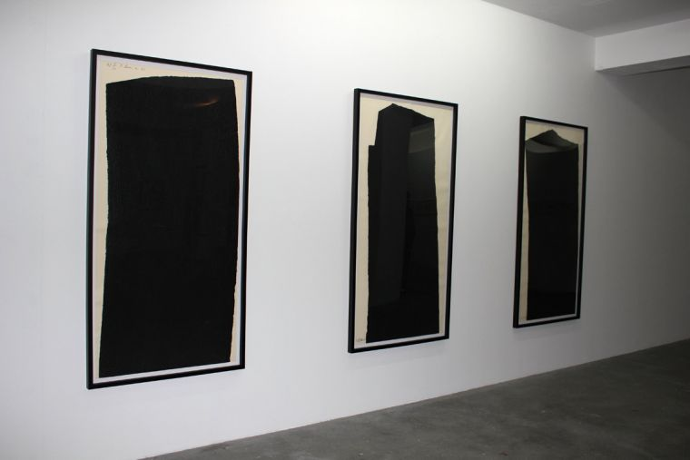 - Very moved by these paintings by Richard Serra