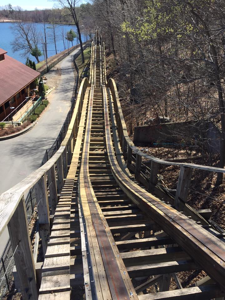 (New track has been put in place to make Boulder Dash a smoother, more enjoyable ride)