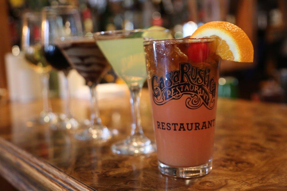 Casa Rustica Cocktails