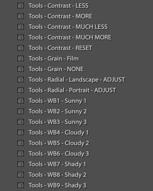 AMP Lens - Tools