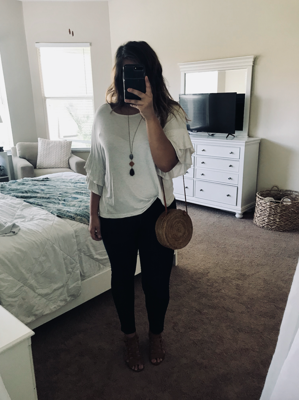 Fall Brunch: Exaggerated Sleeve