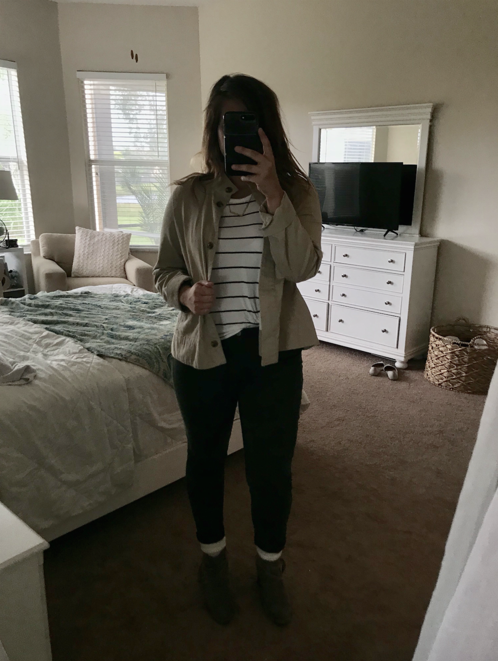 Fall Thanksgiving Day: Striped Tee