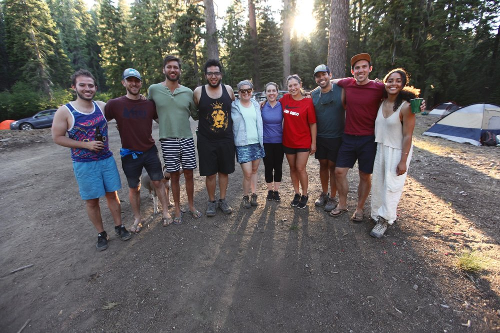 SF CELIon Camping Trip 2018