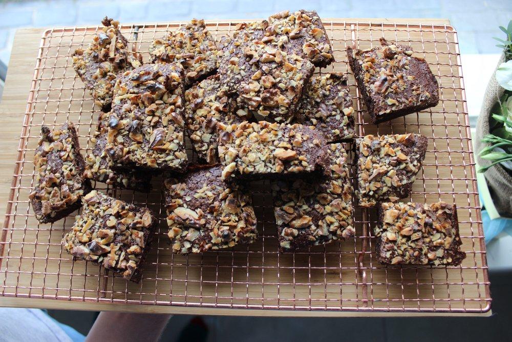 Vegan Fudge Brownie heaven!