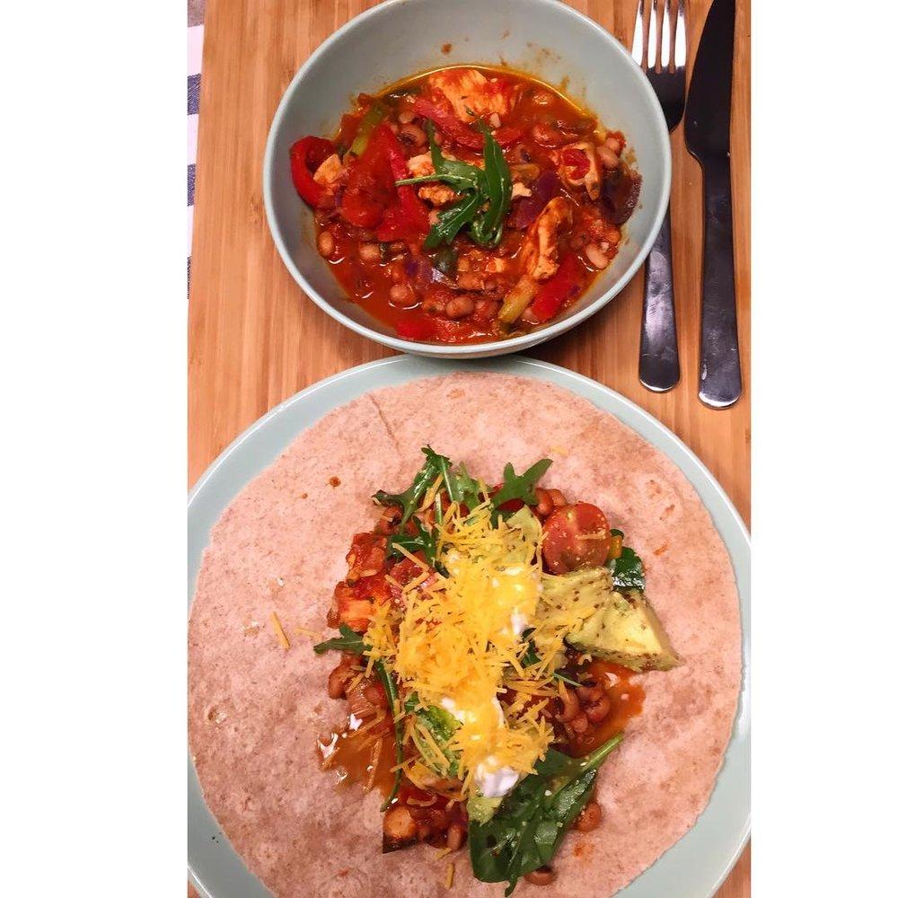 Healthy Mexican Fajitas