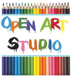 Join us for           Open Art Studio  - Tues., Wed. & Fridays  2:00-5:00pm                All ages welcomed.                                  All mediums encouraged.