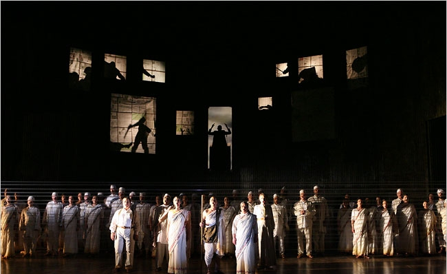 Photo Credit: Ken Howard    Satyagraha- The Metropolitan Opera