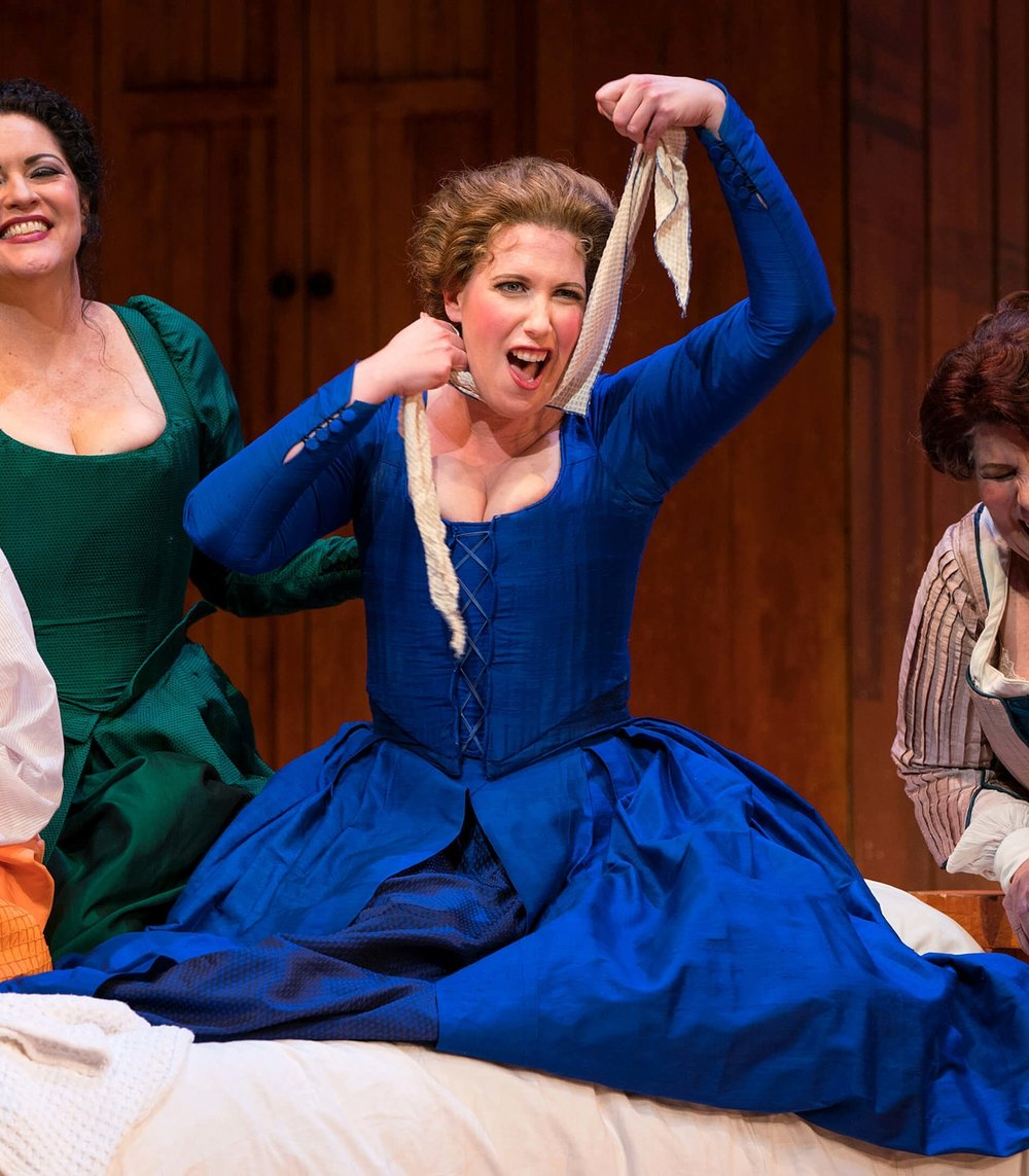 Soprano ellie dehn returns to san diego opera's falstaff - SAN DIEGO STORYSoprano Ellie Dehn, a favorite lead soprano with San Diego Opera, has returned to the company to sing Alice Ford in Giuseppe Verdi's Shakespearean comedy Falstaff.