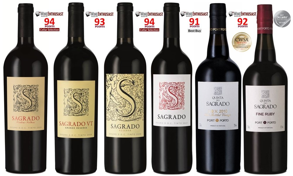 The recent success with the Sagrado range in the Wine Enthusiast
