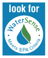 The WaterSense label identifies water-efficient products that help save water.