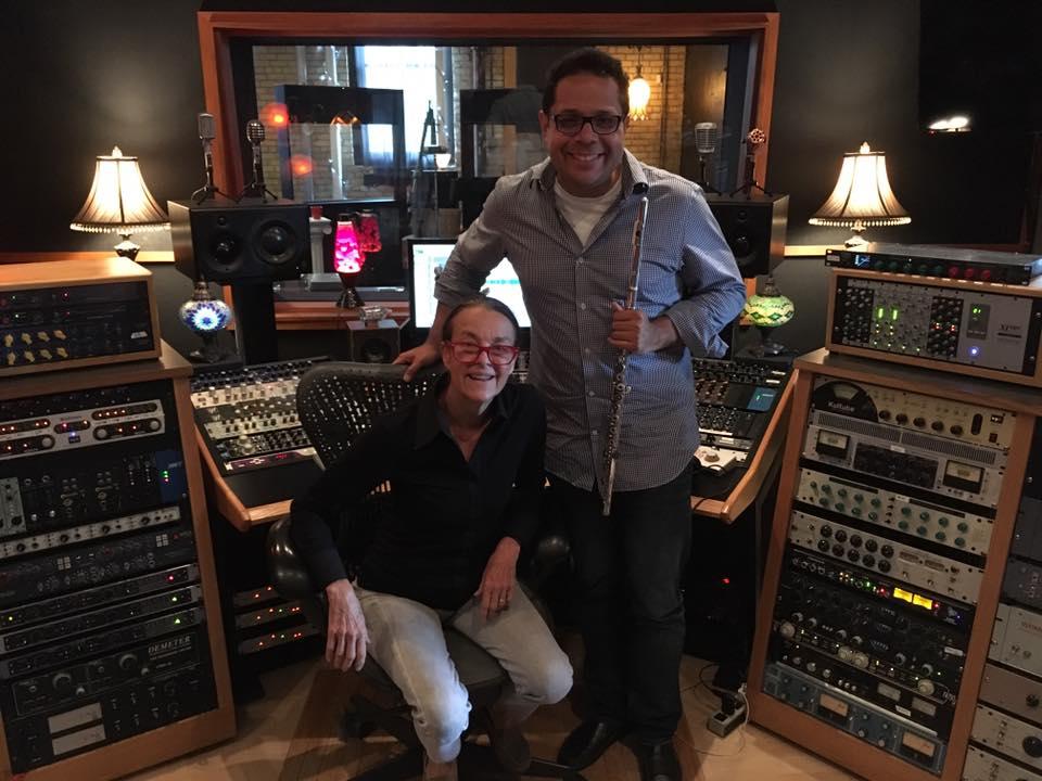 Recording withLibby Larsen - Minneapolis, 2016