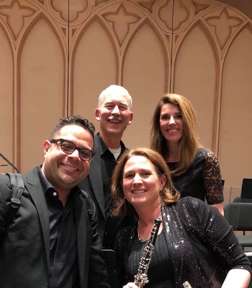 Colorado MahlerFest 2018 - Dan Silver, clarinet; Sarah Fish, bassoon; Victoria Brawn, oboe