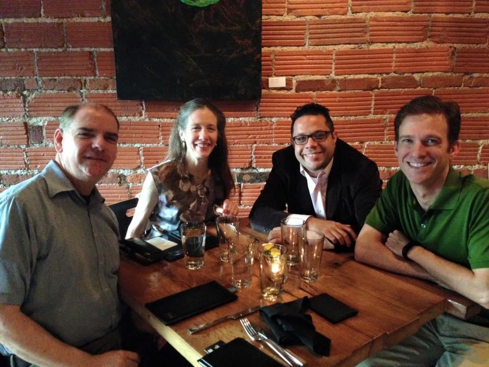UMKC Colleagues - Mary Posses, William Everett, Andrew Granade, 2015