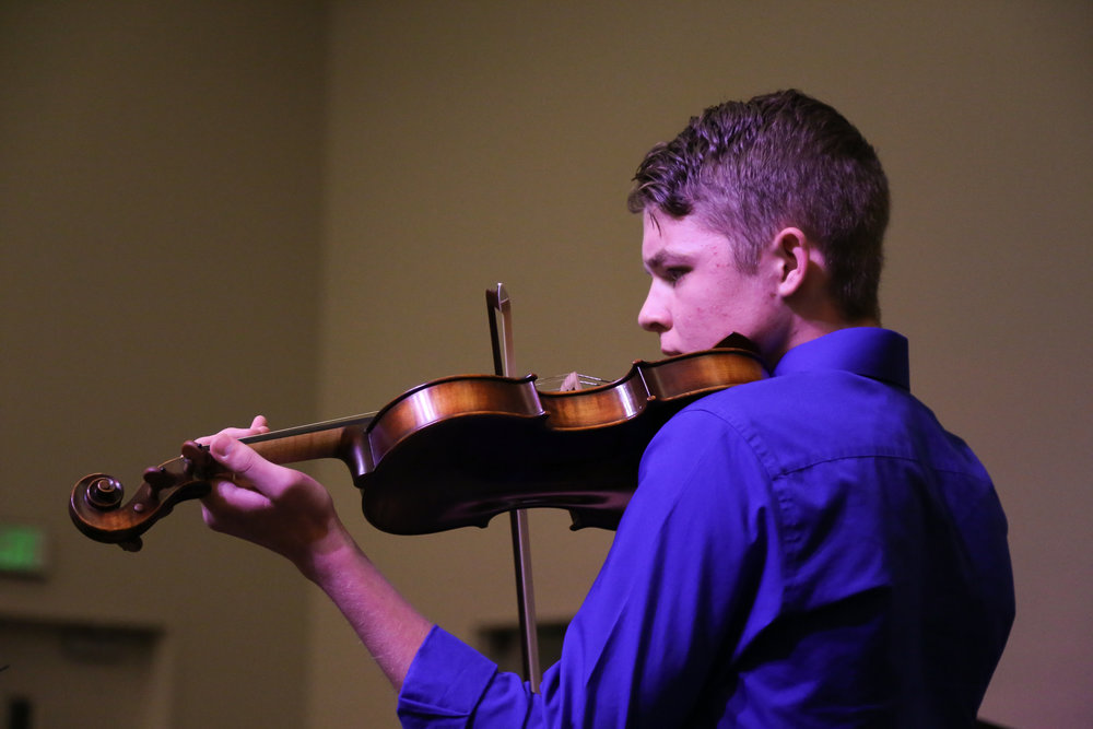 Student Testimonial - I've taken violin lessons with Brandy for the past five years. Brandy's love for music is infectious and has inspired me to become a better musician and to invest my life in  classical music culture. She has helped to instill a love for the violin that will be with me for the rest of my life.  – Elijah Sherratt