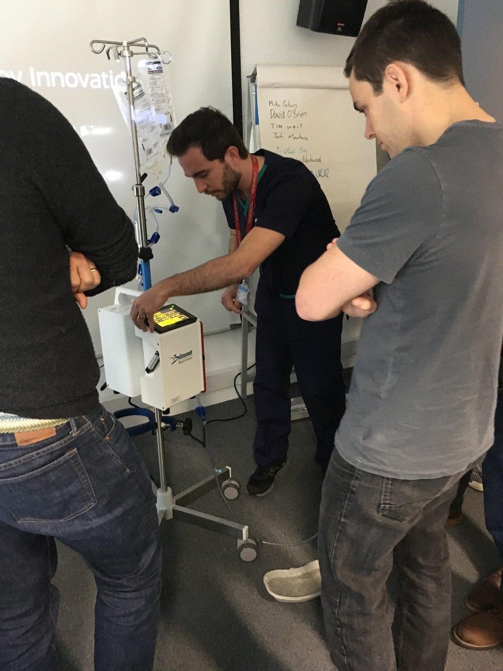 Belmont Rapid Infuser - Demonstration and problem solving