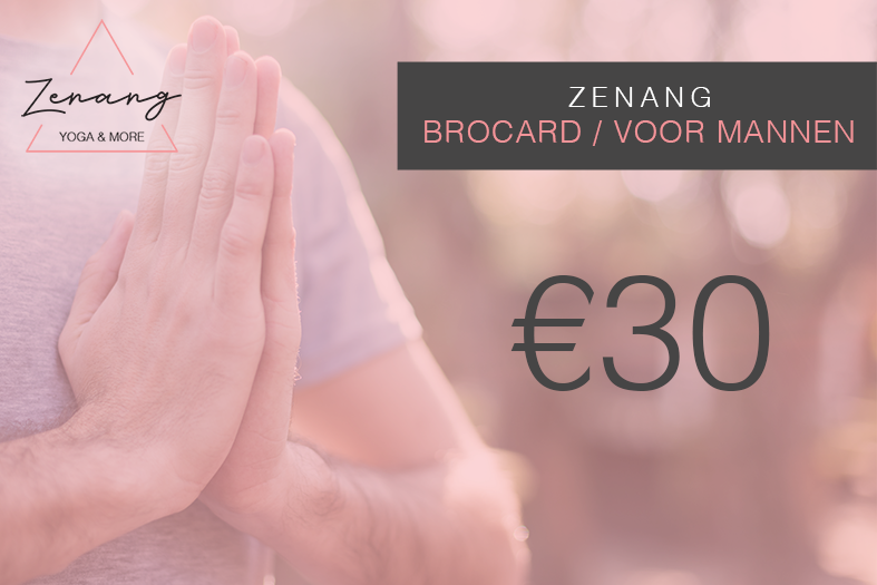 BroCard.Alleen voor Mannen. - This card entitles you to join 1 Broga + 1 Yoga Board Class per week.Only for men.Valid for 1 month.