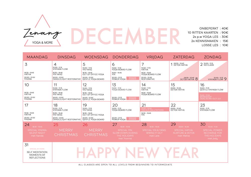 Zenang schedule Dec.png