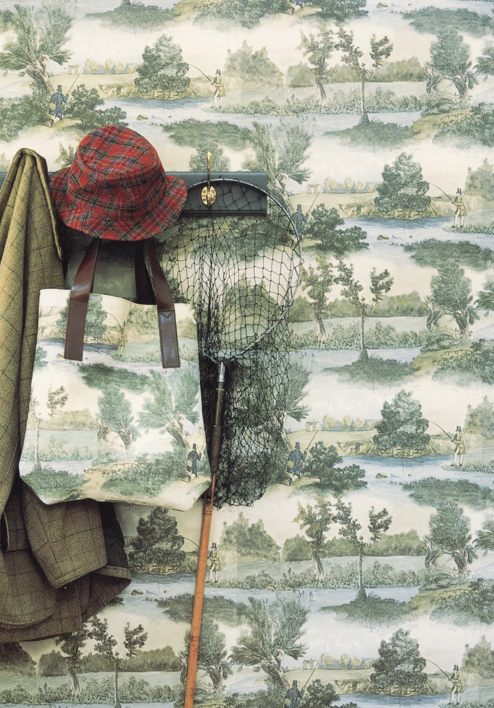 Lewis & Wood Fly Fishing Fabric
