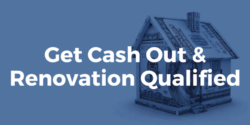 Get up to 100% or more on all cash out and renovation loans from BuildBuyRefi using our refinance qualifier.