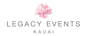 Legacy Events Kauai Wedding Planner