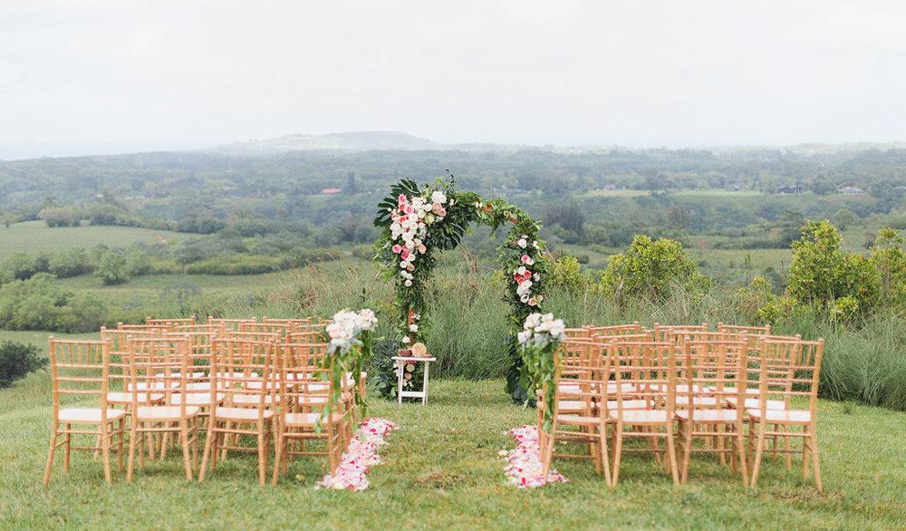 Legacy Events Kauai Wedding Planner