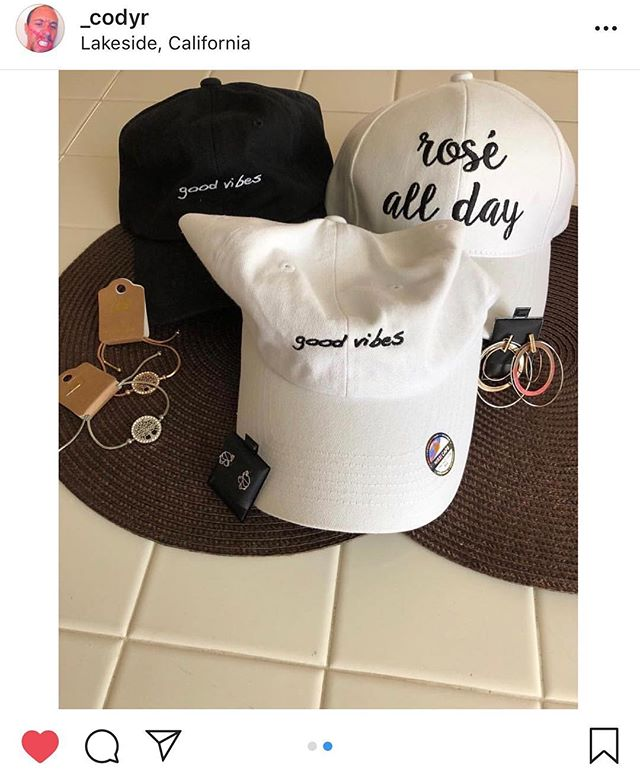 Loving our support and shoutouts from the pop up shop last Friday! 💖 Hats are up on website! @_codyr @sammm_scott #isabelxo
