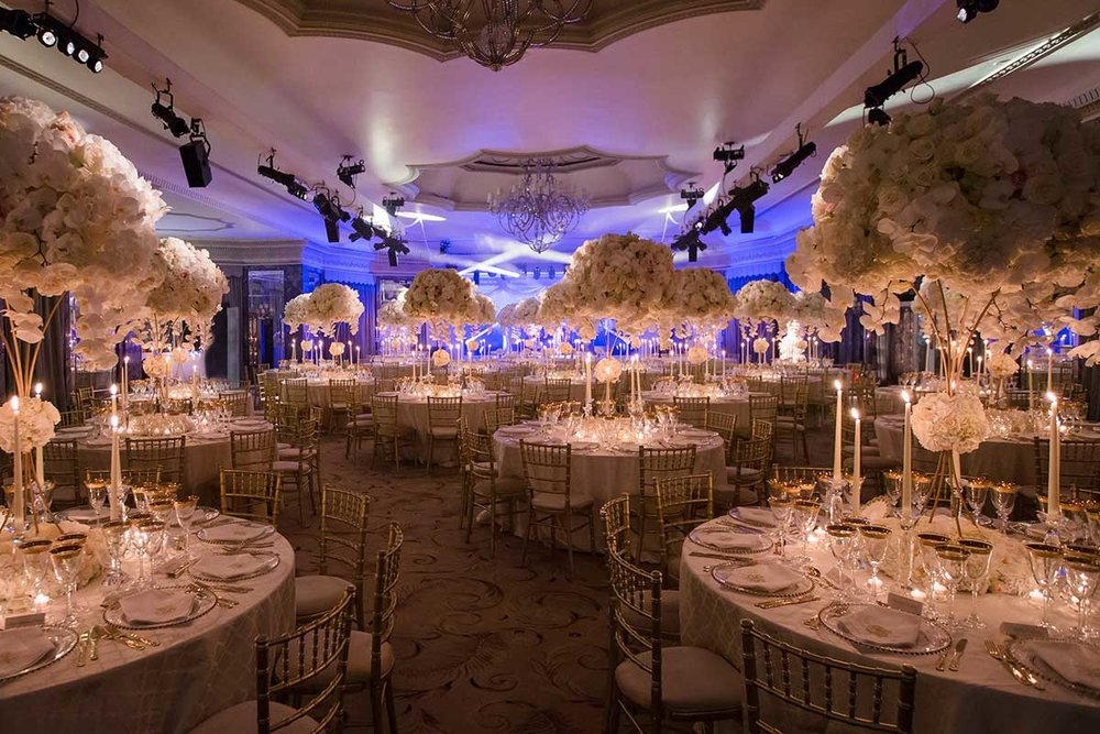 Mayfair park lane hotel The Dorchester London Wedding event ballroom