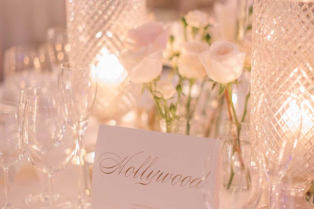 Table place card