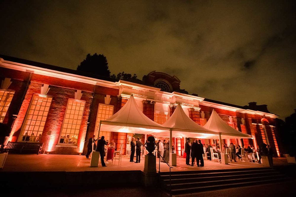 Kensington Palace  orangery party outdoor reception