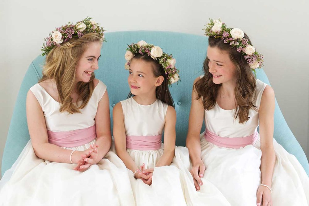 bridesmaids flower crown philippa craddock florist