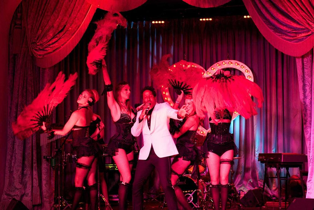 Party cabaret performance