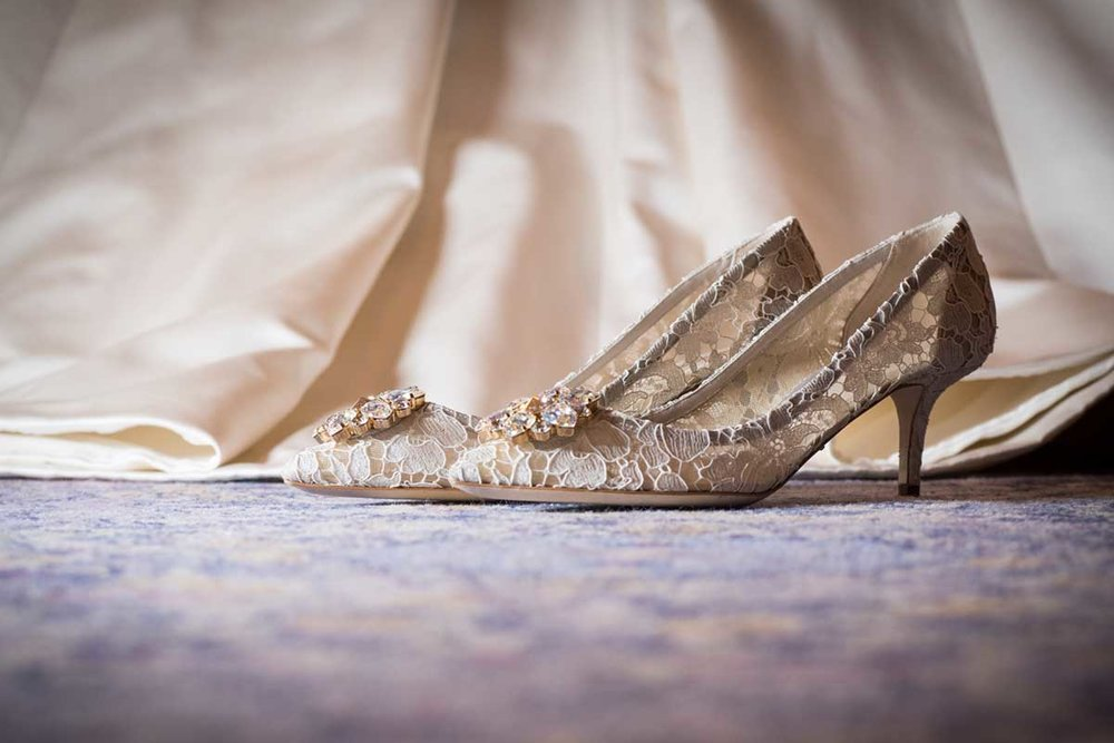 Shoes Jimmy Choo wedding dress