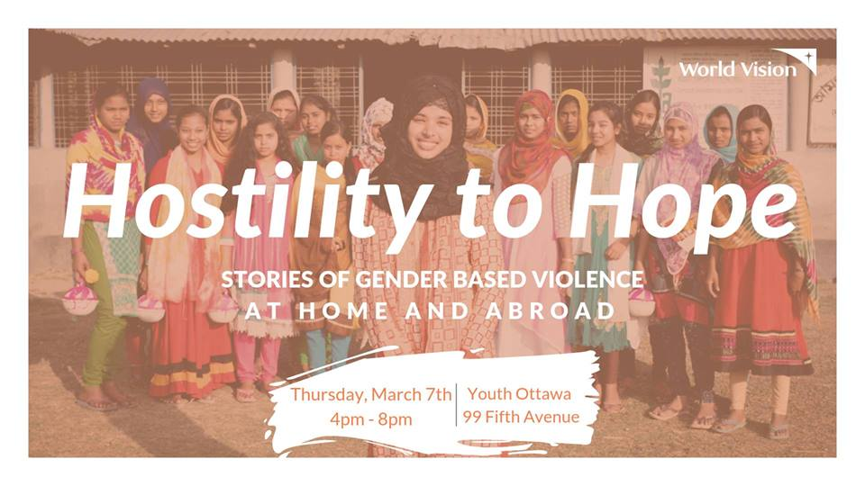 Hostility to Hope Gender Based Violence at Home and Abroad - CVUO - uOttawa Events.jpg