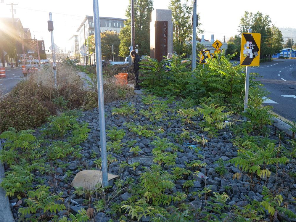 Lents Monument Clean up September 27, 2018