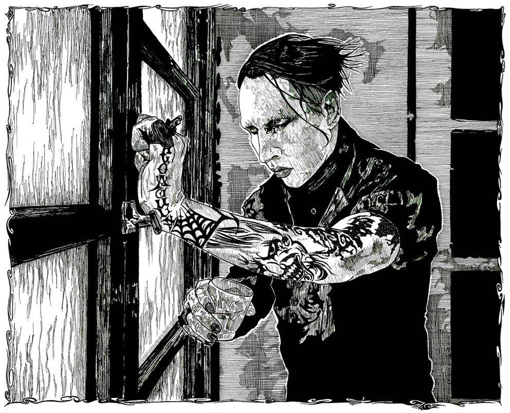 - 9. The Reflecting god, Marilyn Manson