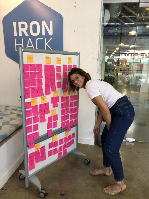 Affinity Mapping (with 100,000 post it notes)