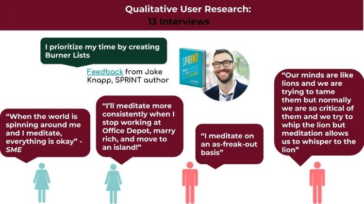Qualitative User Research Insights