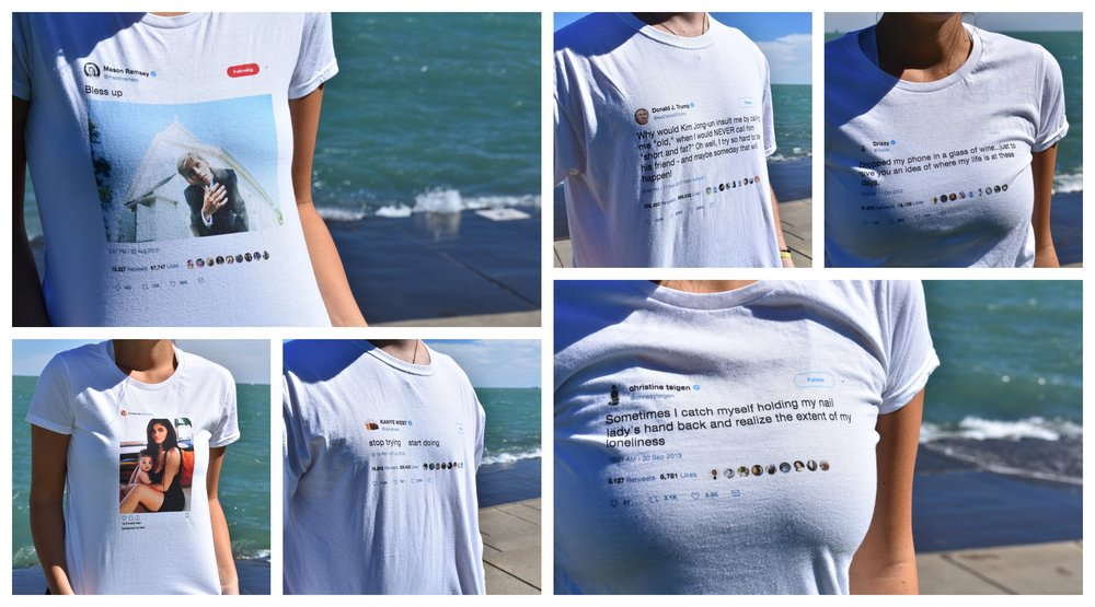 Tweets on shirts by Wear Your Twuth