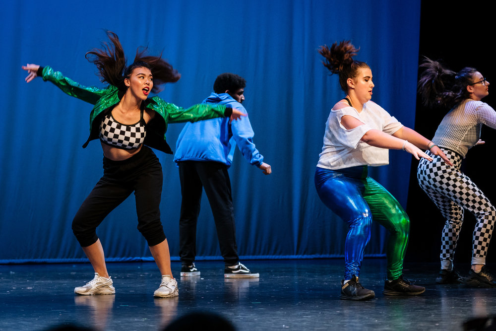 hip hop - Hip Hop dance is a street dance that has evolved along with Hip Hop culture. Choreography is fun, lively and challenging. Hip Hop music is set to a strong, urban beat. This style builds stamina, with an emphasis on body isolations, co-ordination, freestyle movement, rhythm, and confidence.