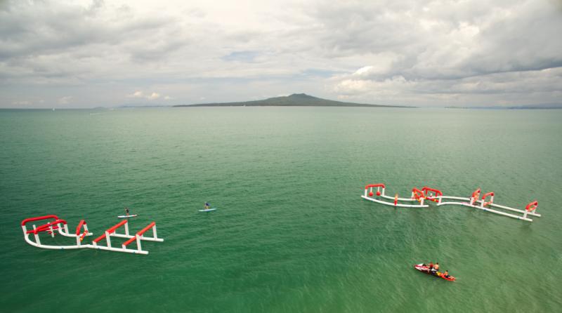 Auckland-Paddle-Boarding-Ninja-Games